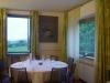 sala ristorante con vista su prato LOCANDA DELL'ARTE