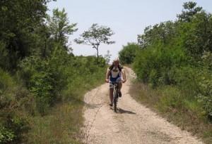 itinerario sanguineto in bici